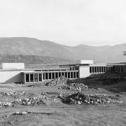 Construction of the campus, 1966.