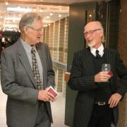 Faculty pioneers Craig Andrews (left) and Rod Michel (right).