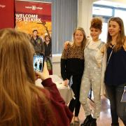 Prior to playing her set, Kiesza greeted fans for almost two hours where she signed autographs and posed for photos.