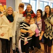 Former classmates from the Contemporary Music and Technology Program who graduated with Kiesza in 2009 came out to show support and reconnect.