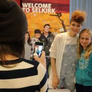 Kiesza followed the gala up with a Sunday event where she took an opportunity to hang out with fans of all ages.