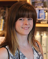 Kat Zaworonok, Selkirk College alumna, 1998, Waves Hair Design stylist