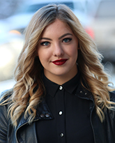 Amber Beckjord, Selkirk College graduate 2014, Stylist at Union Salon in Vancouver